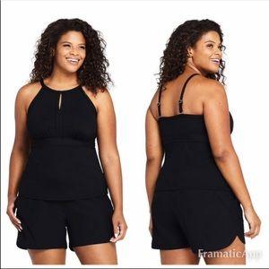 NWOT Lands' End Swimsuit Size 16 D 2 piece